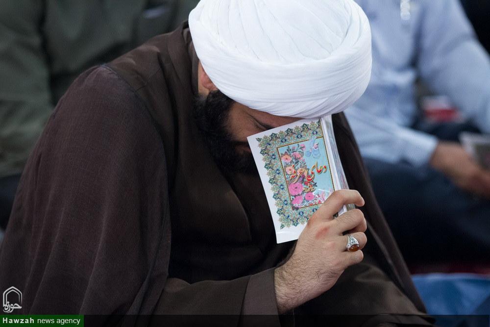تصاویر/ مراسم پرفیض دعای عرفه در حسینیه عاشقان ثارالله شهر بوشهر
