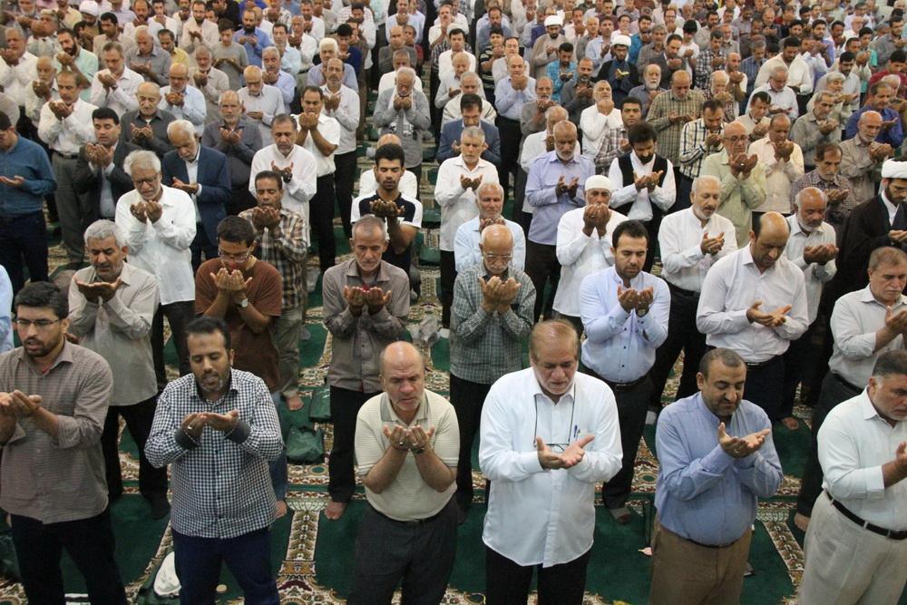 تصاویر/ نماز عید سعید قربان در  بوشهر