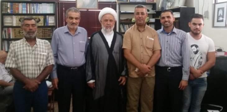 شیخ علی یاسین رئیس انجمن علمای صور