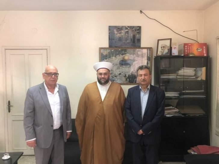 شیخ عبد الله جبری دبیرکل جنبش امت لبنان