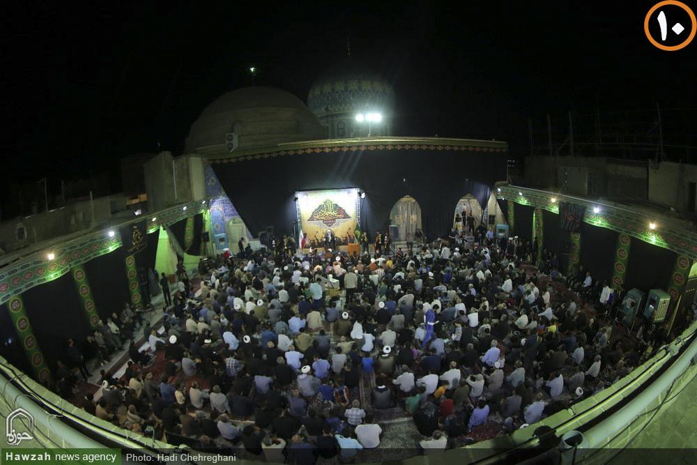 حال و هوای امامزاده موسی مبرقع(ع) در شب شهادت امام جواد (ع)