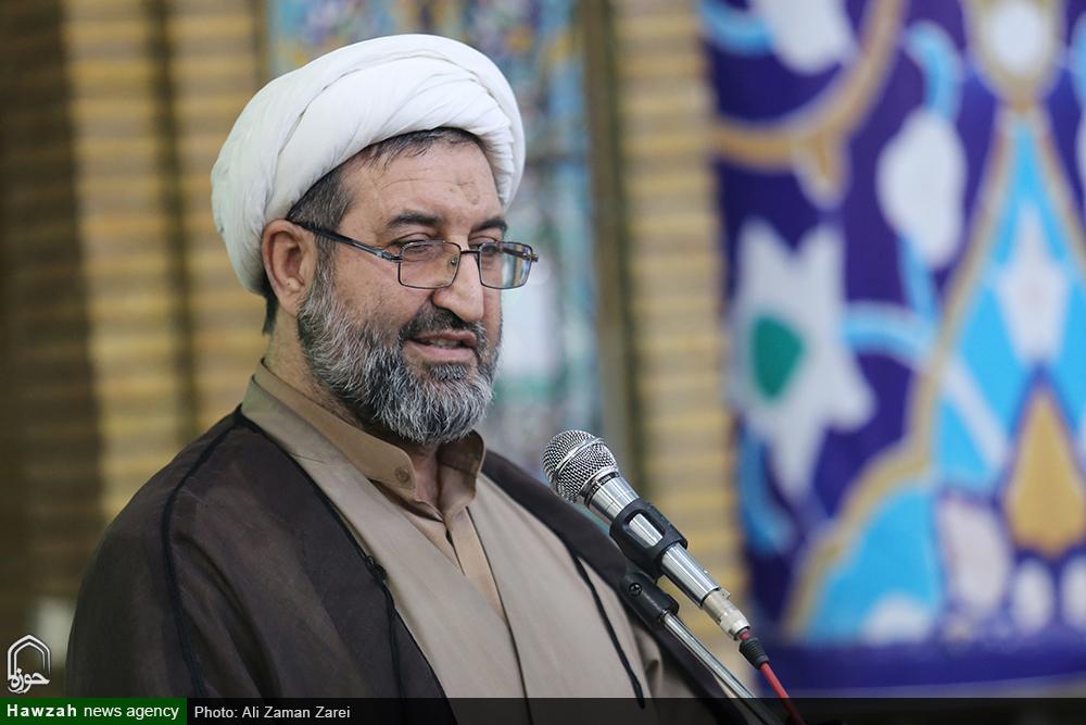 سخنرانی حجت الاسلام و المسلمین بهرام پور در آیین آغاز سال تحصیلی مدارس علمیه خوزستان