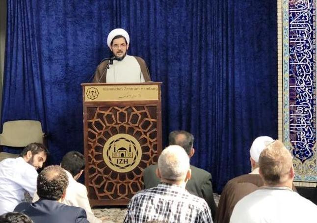 حجت الاسلام مفتح امام و مدیر جدید مرکز اسلامی هامبورگ