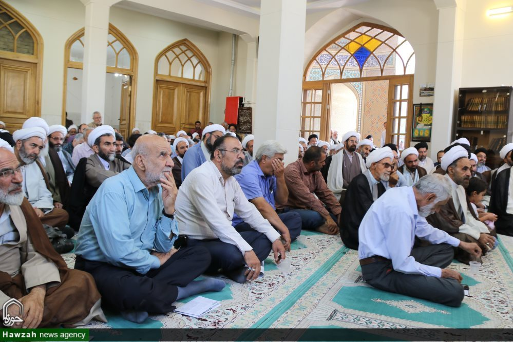 تصاویر/ مراسم بزرگداشت آیت الله بهشتی اصفهانی در مدرسه صدر بازار