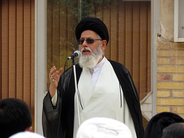 حجت الاسلام والمسلمین سید محمد کاظم مدرسی ، نایب رئیس شورای حوزه علمیه یزد