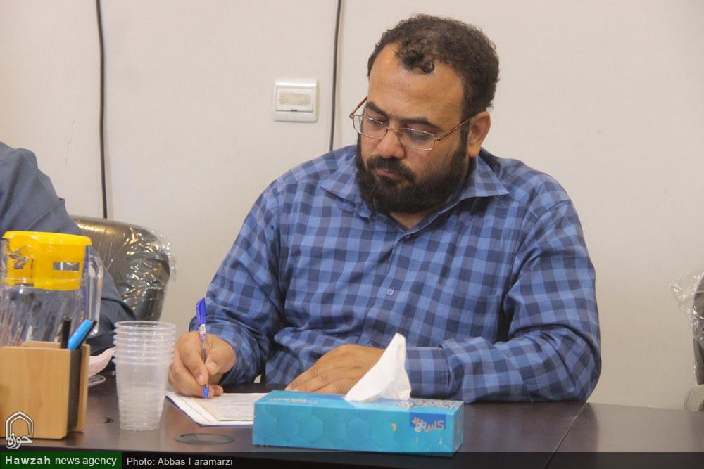 محمد حسین فرج نژاد فعال رسانه ای
