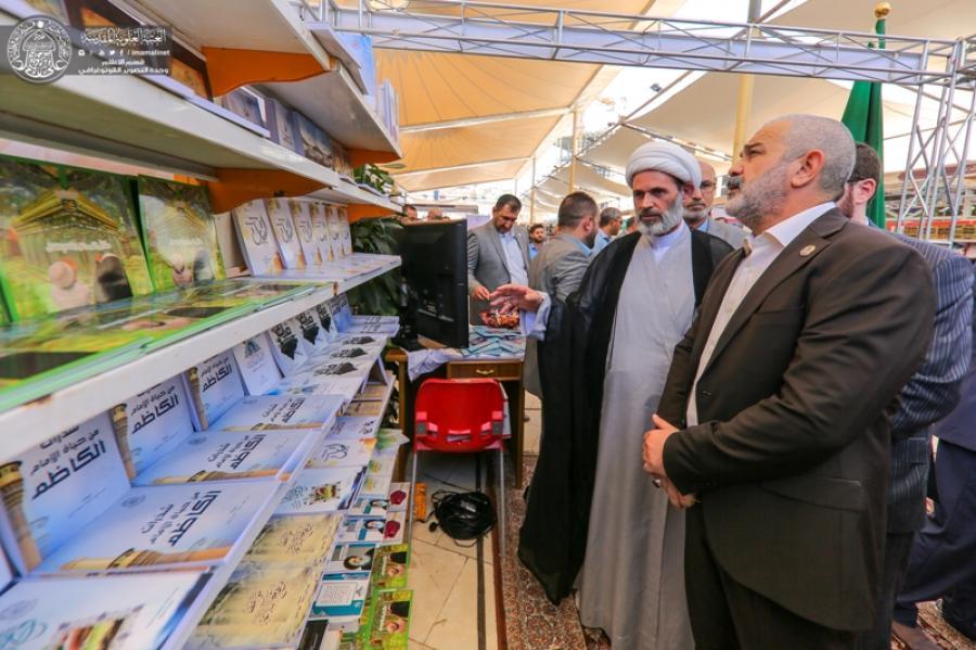 افتتاح نمایشگاه کتاب در کنار فعالیت های جشنواره بین المللی غدیر
