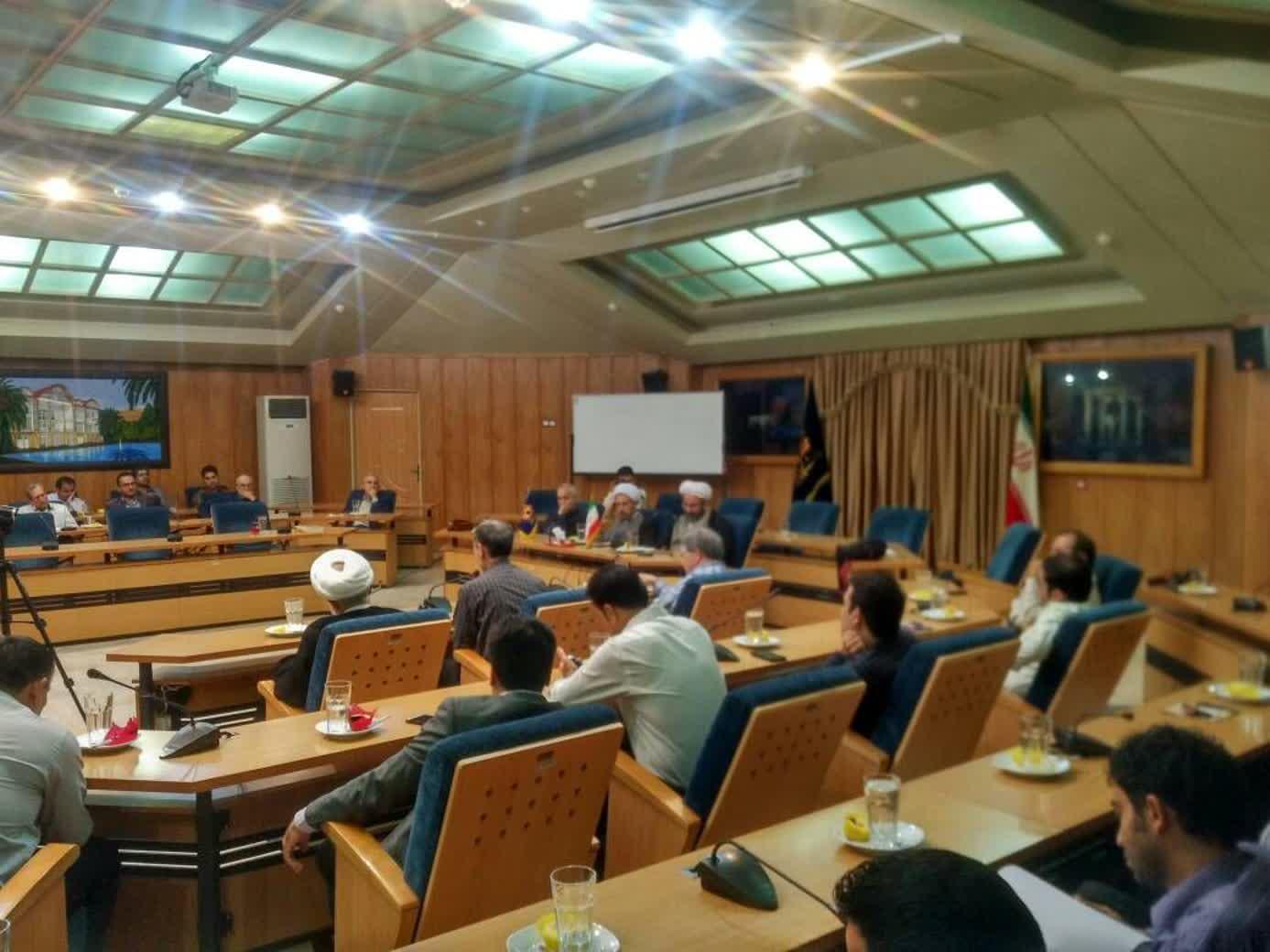 جلسه بصیرتی دانشگاه شیراز