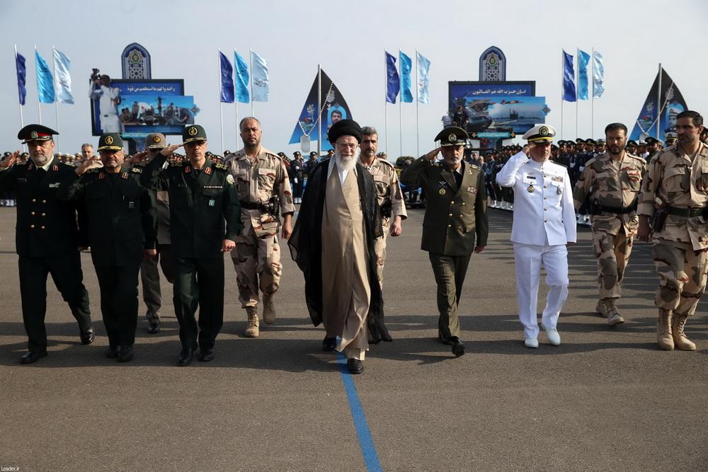 فرمانده کل قوا در مراسم دانشآموختگی دانشگاههای ارتش در نوشهر