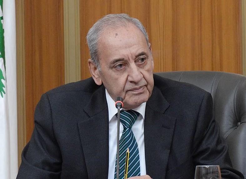 نبیه بری رئیس پارلمان لبنان