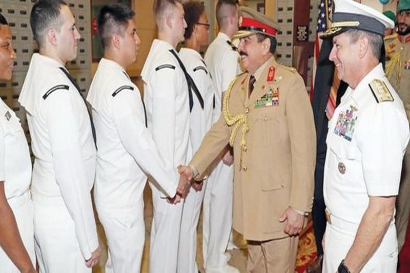 حضور نظامی آمریکا در بحرین