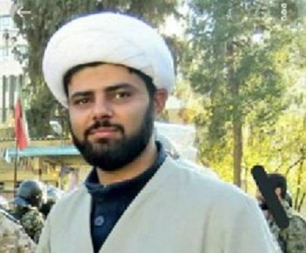 حجت الاسلام فرهاد طالبی طلبه شهید شیراز