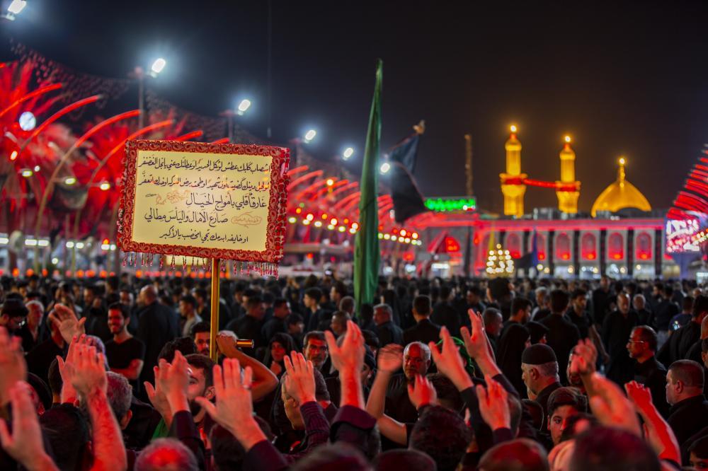 مراسم ویژه موکب ها و خادمان برای سقای دشت کربلا حضرت ابا الفضل العباس (ع)