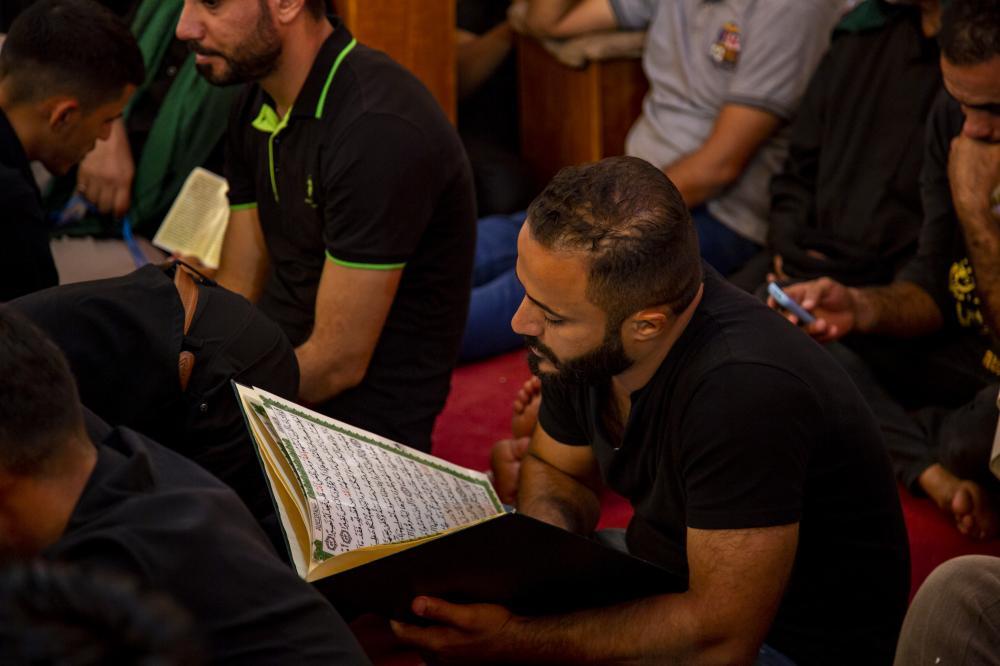 قرآن در شب عاشورا
