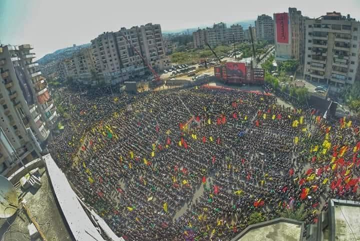 مراسم عاشورای حسینی در مناطق مختلف لبنان برگزار شد
