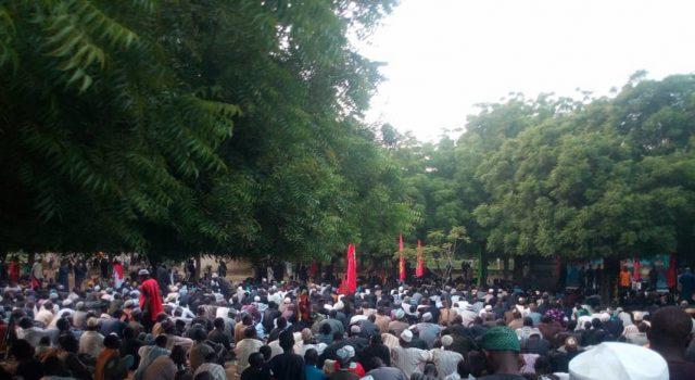 شیعیان شهر کانو نیجریه مراسم عزاداری برگزار کردند