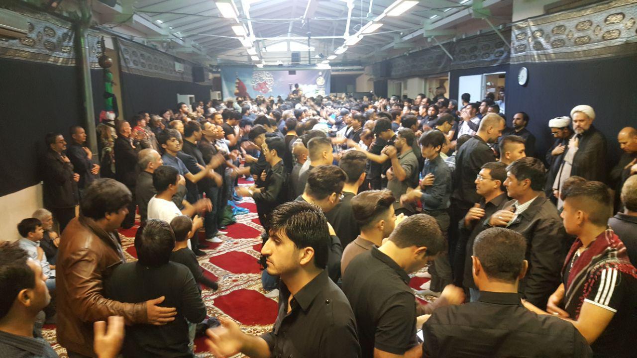 مراسم عاشورای حسینی در مرکز اسلامی امام علی(ع) وین