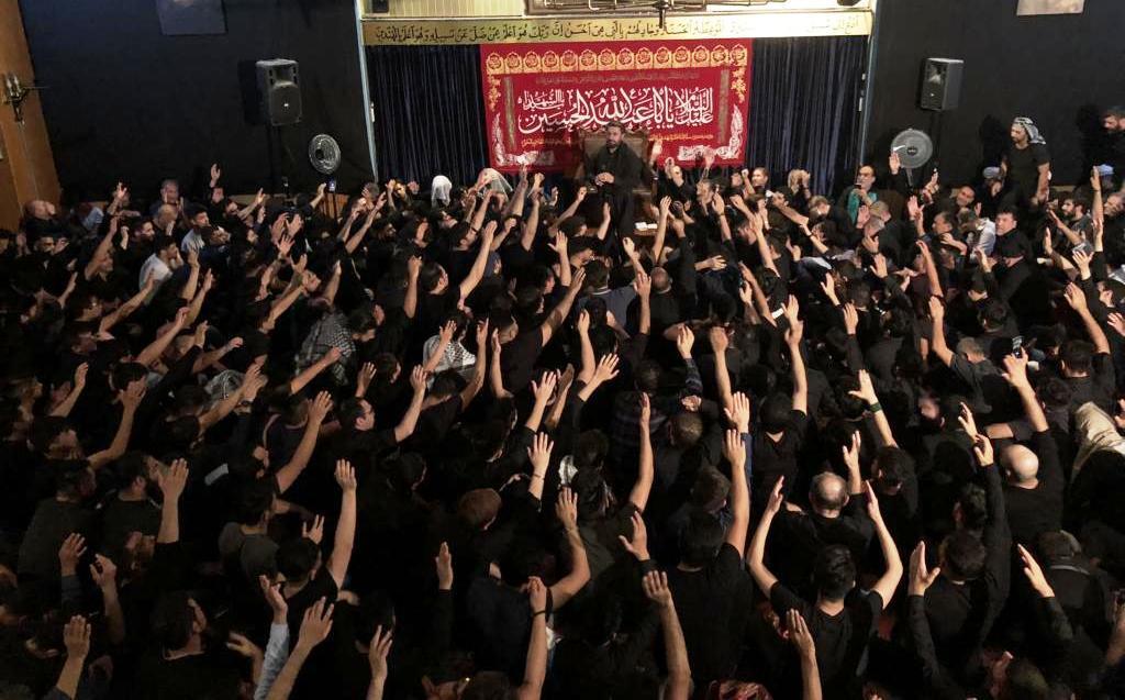 عزاداری پر شور عاشورائیان در مرکز اسلامی هامبورگ