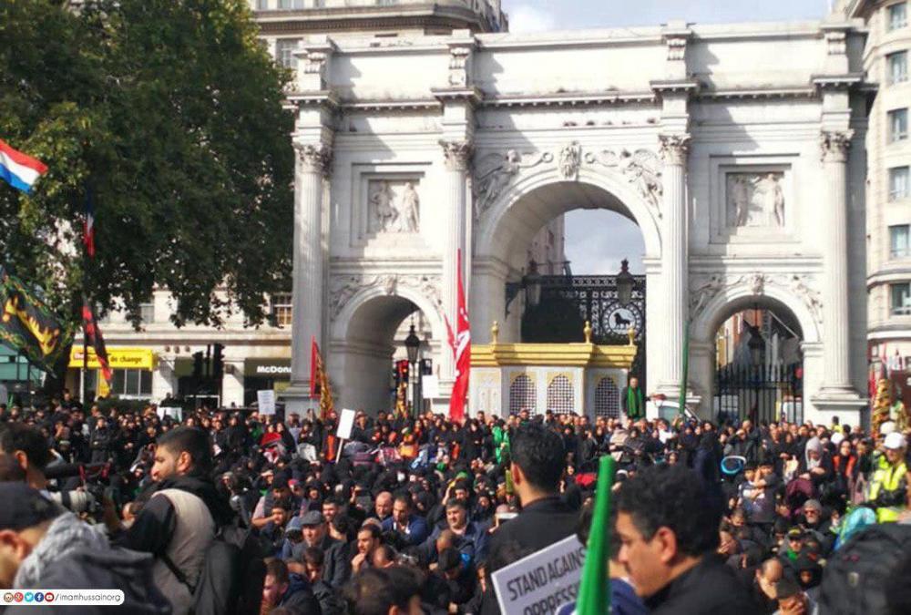 یوم الحسین در کشورهای مختلف جهان