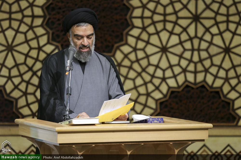 واعظ موسوی در بیستمین اجلاسیه اساتید سطوح عالی و خارج حوزه علمیه قم