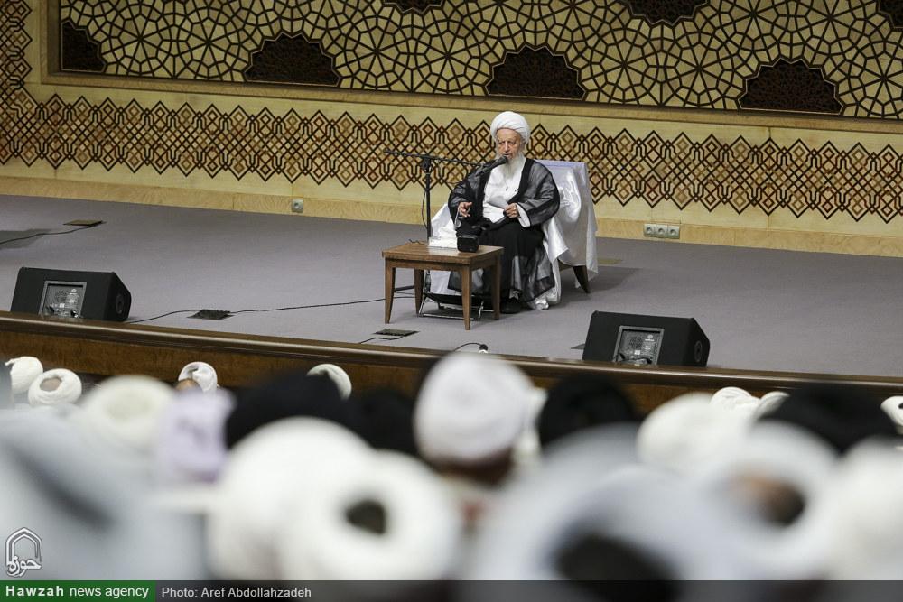 تصاویر/ بیستمین اجلاسیه اساتید سطوح عالی و خارج حوزه علمیه قم