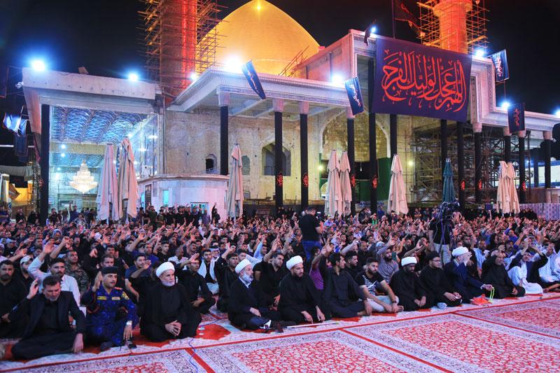سیزدهمین سالگرد تخریب حرم امامین عسکریین(ع) در سامرا برگزار شد