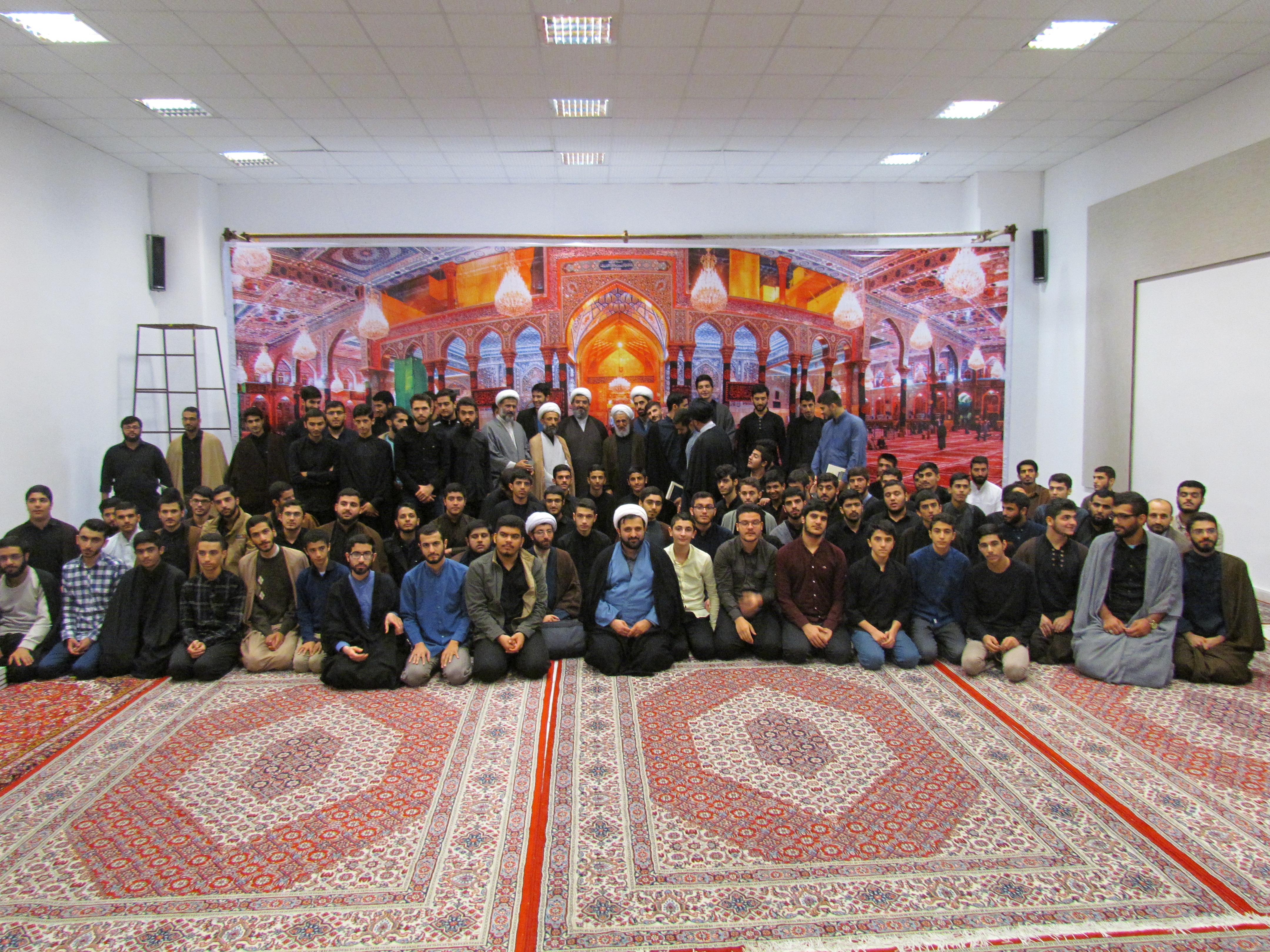تصاویر/ بازدید امام جمعه موقت تهران  از مدرسه  امیرالمومنین(ع) رشت