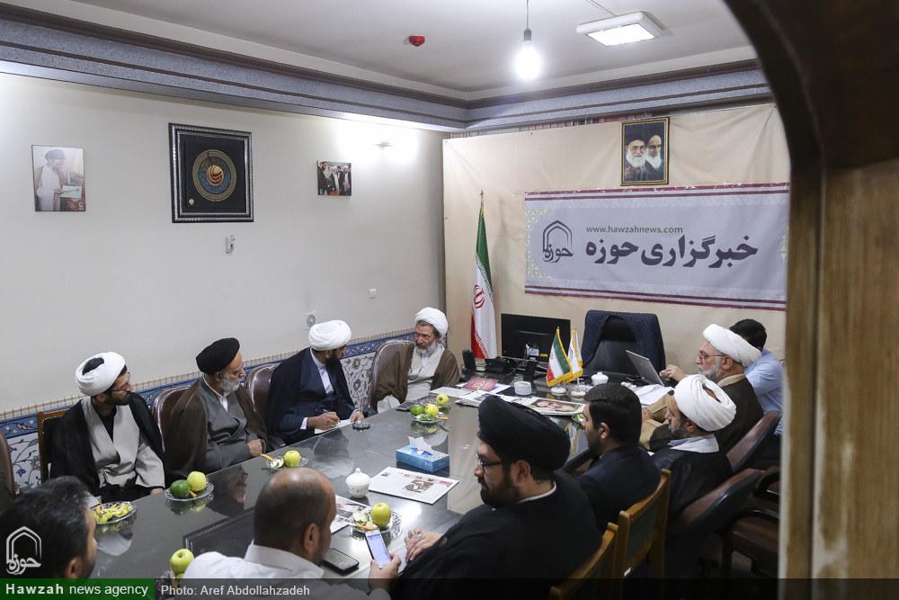 تصاویر/  بازدید اعضای دبیرخانه کنگره جهانی مقابله با جریان های افراطی تکفیری از خبرگزاری حوزه