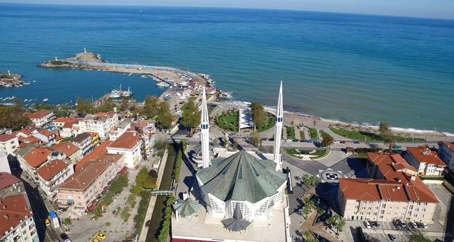 مسجد هشت ضلعی در ترکیه