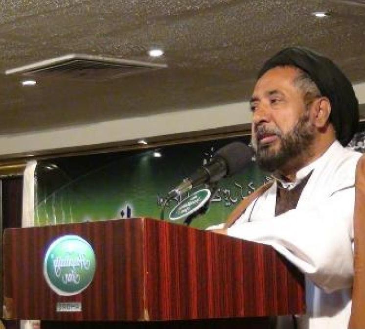 نائب رئیس وفاق المدارس الشیعه پاکستان
