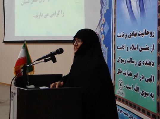 حسینی واعظ- سرپرست حوزه های علمیه خواهران استان گلستان