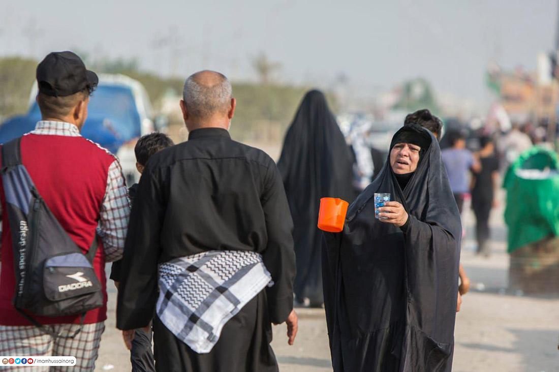 آغاز پیاده روی اربعین از شهر های مختلف عراق