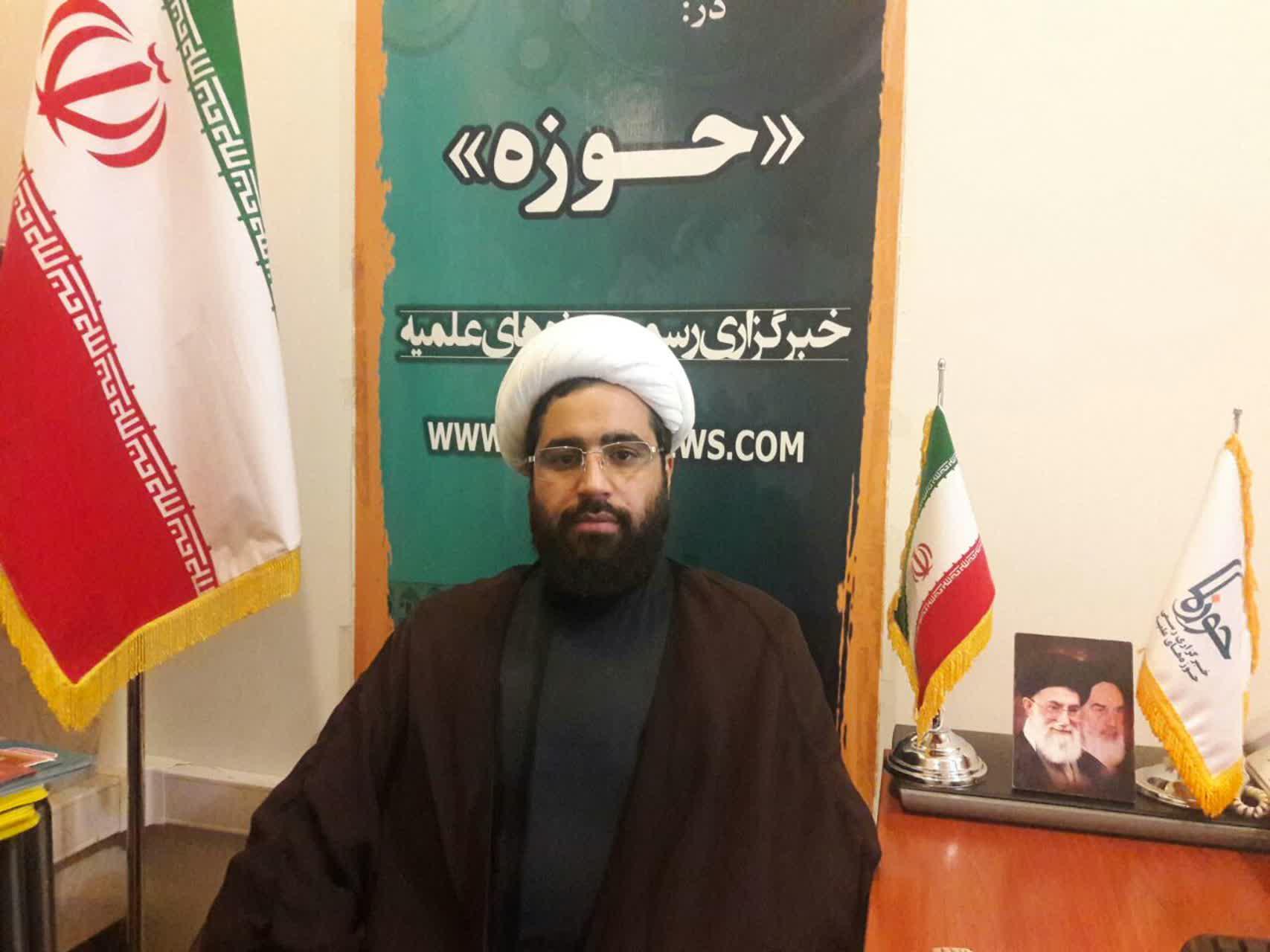 حجت الاسلام رضا کمندانی معاونت تهذیب مدرسه امام خمینی(ره) کرمانشاه