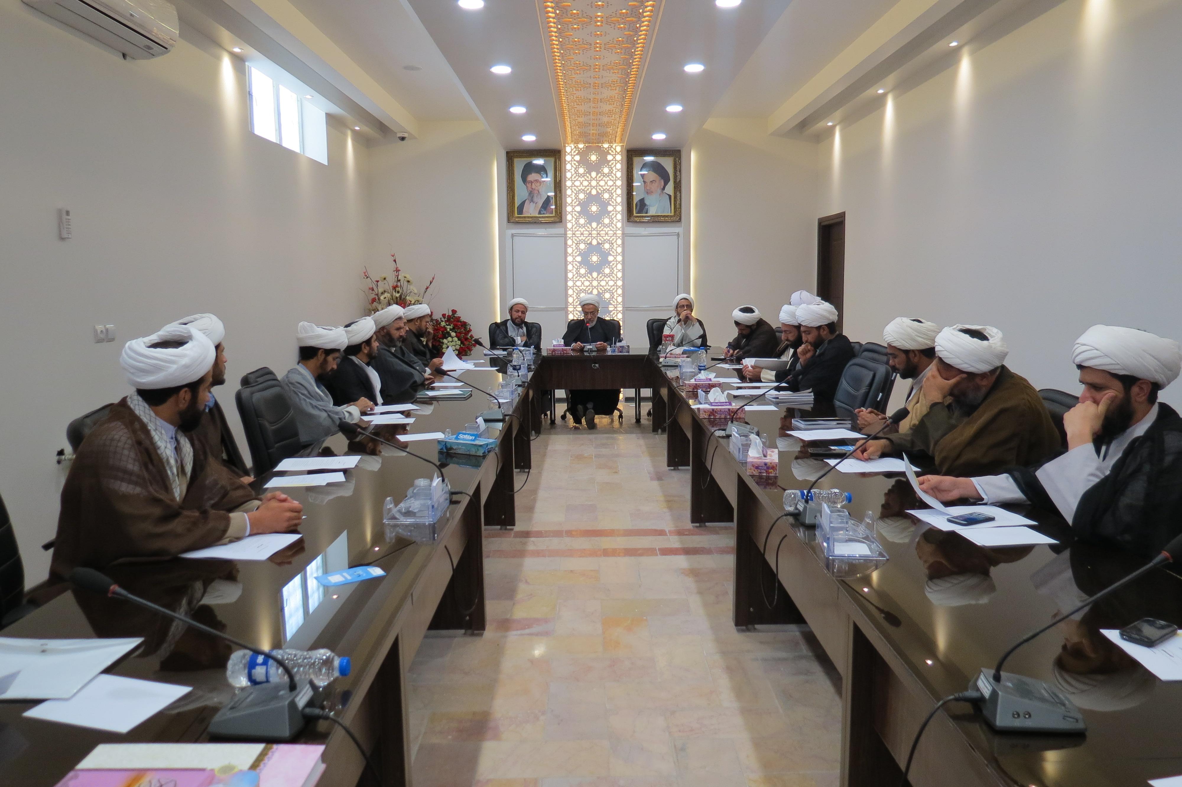 جلسه مدیران و معاونین آموزش سفیران هدایت استان کرمان