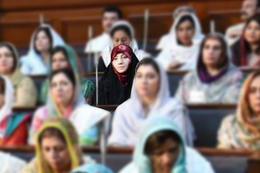 خانم سیده زهرا نقوی عضوی پارلمان ایالت پنجاپ