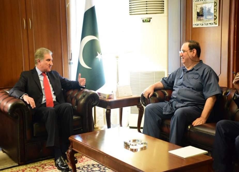 وزیر امور خارخه پاکستان با سفیر عراق در پاکستان دیدار کرد