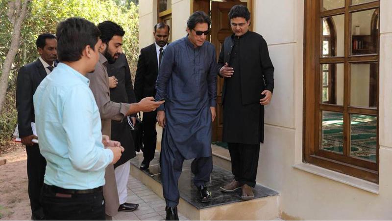 نخست وزیر پاکستان مسجدی را در محل سکونتش بنا کرد