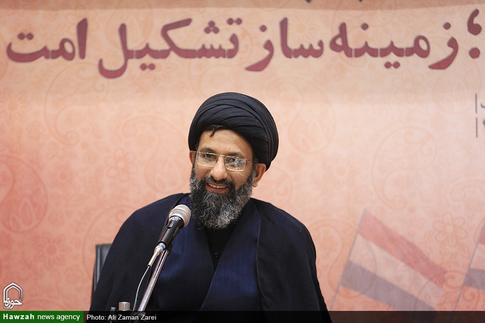 حجت الاسلام موسوی ، استاد حوزه علمیه قم و نجف