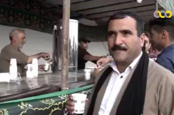 روایتی از موکب هموطنان کرد اهل تسنن در مرز شلمچه