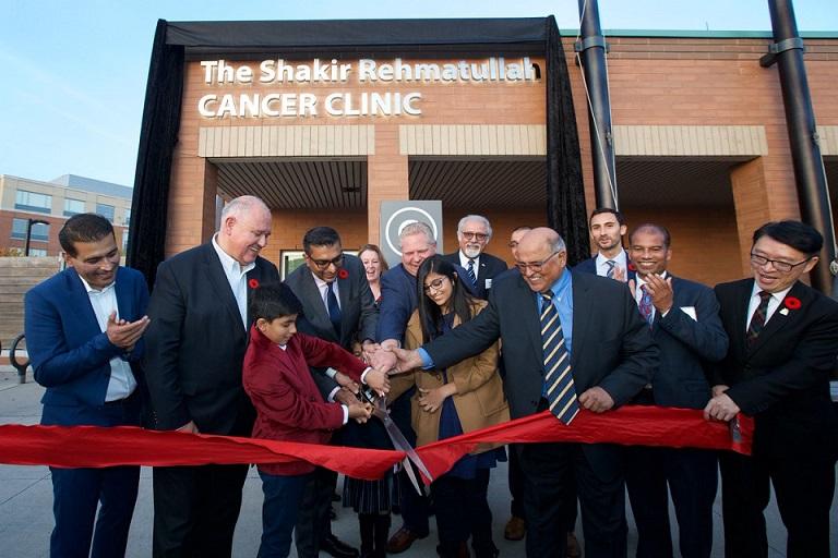 یک خیّر مسلمان به یاد پدرش، مرکز درمانی سرطان راه اندازی کرد