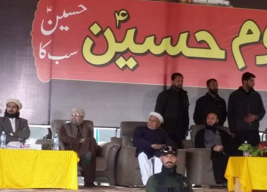 سخنران مراسم یوم الحسین (ع) در شهر گلگیت