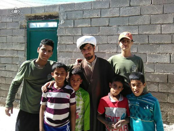 حجت الاسلام مصطفی اینانلو- طلبه جهادی