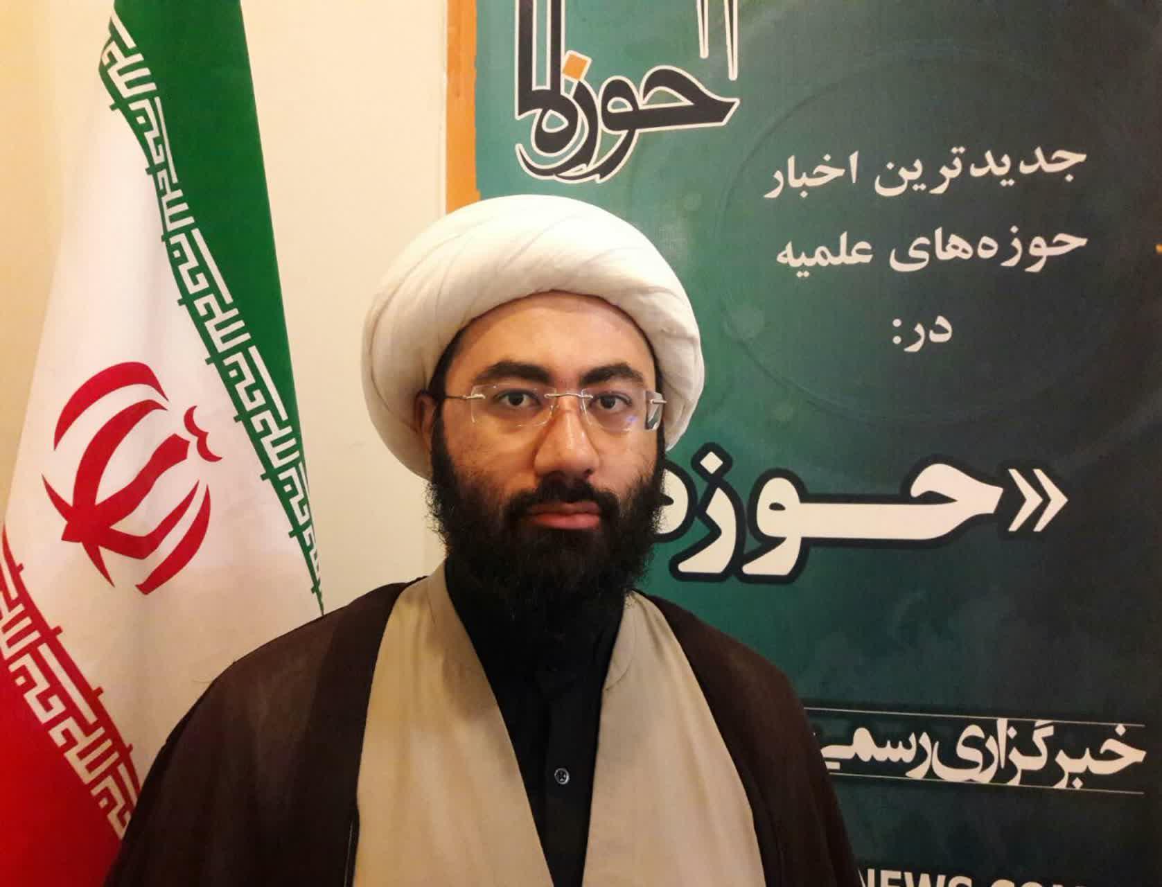 حجت الاسلام احمدرضا اصغری معاونت آموزش مدرسه باقرالعلوم(ع) سرپل ذهاب