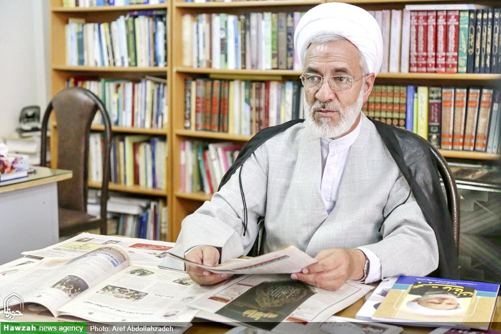 حجت الاسلام والمسلمین اللهوردی-مدیر حوزه علمیه کرمان