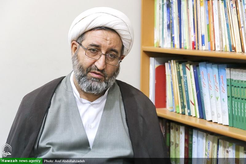 حجت الاسلام و المسلمین بهرام پور-مدیر حوزه علمیه خوزستان