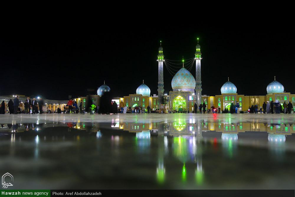 تصاویر/ مراسم عزاداری شهادت امام حسن عسکری(ع) در مسجد جمکران