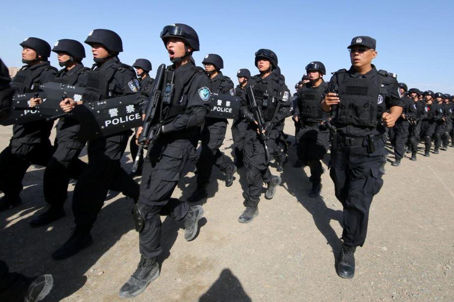 شهری در سین کیانگ چین به افراط گرایان و تروریست ها هشدار داد