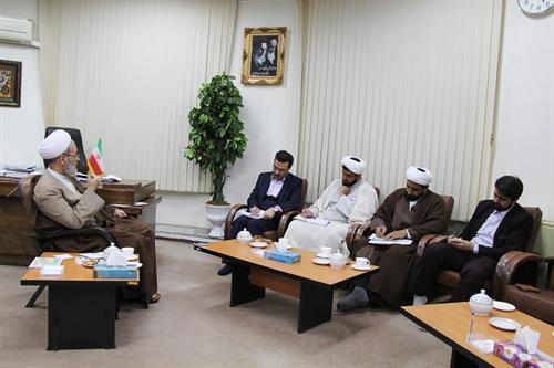 دیدار مدیرکل کمیته امداد امام خمینی قم با مدیر حوزه های علمیه