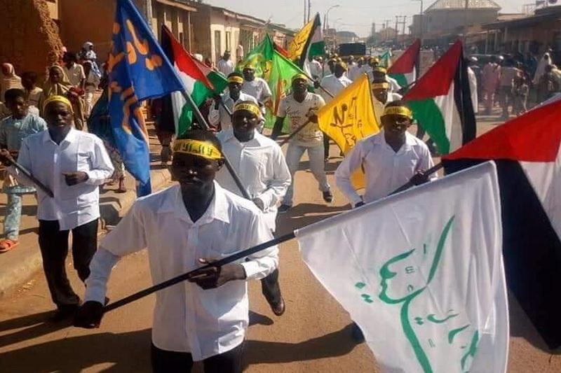 پیاده روی دانش آموزان ایالت کاتسینا نیجریه