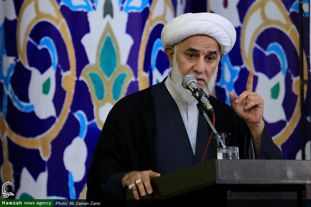 سخنرانی حجت الاسلام و المسلمین حاجتی در تجمع حوزویان اهواز
